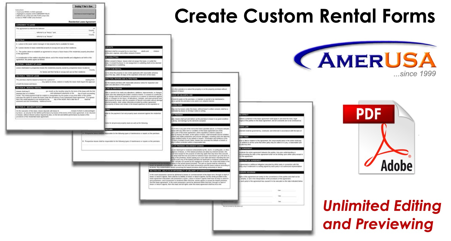 rental forms
