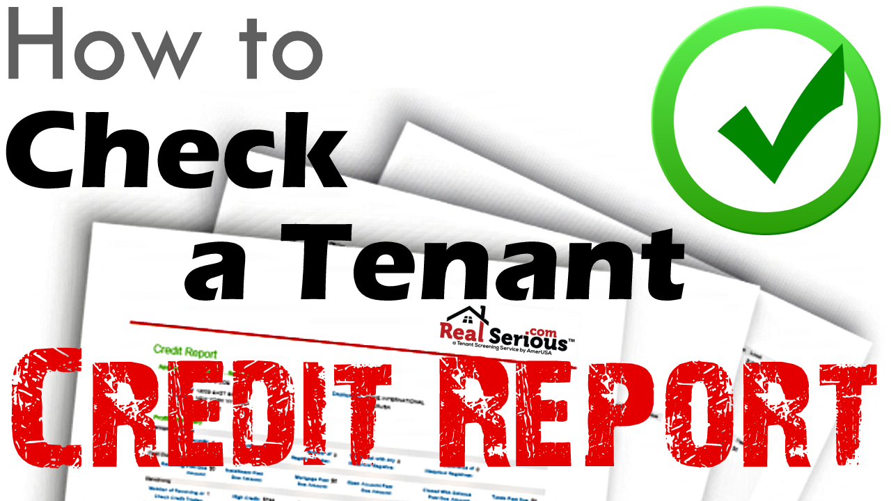 How to Check Tenant Credit Report