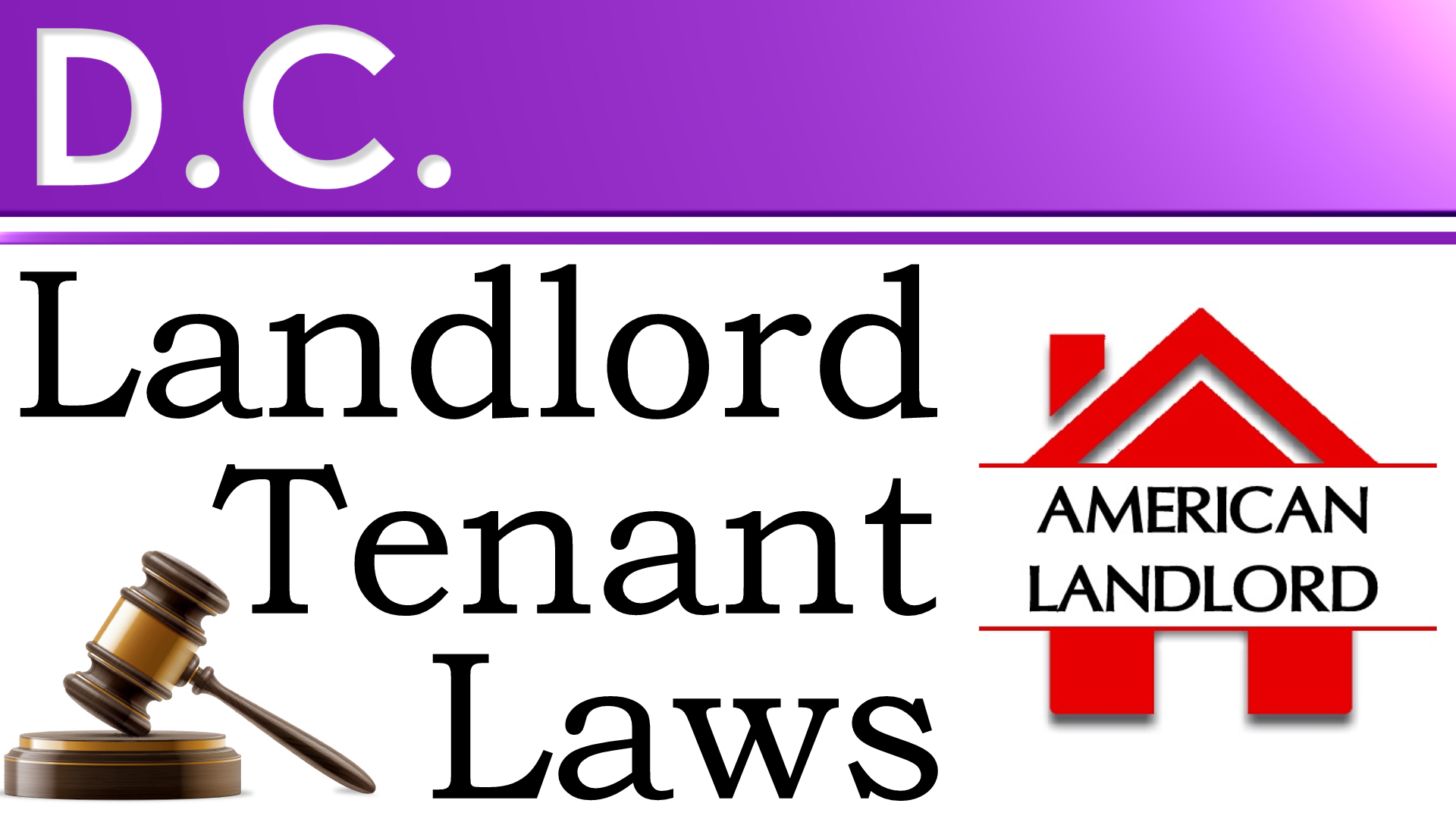 DC Landlord Tenant Law