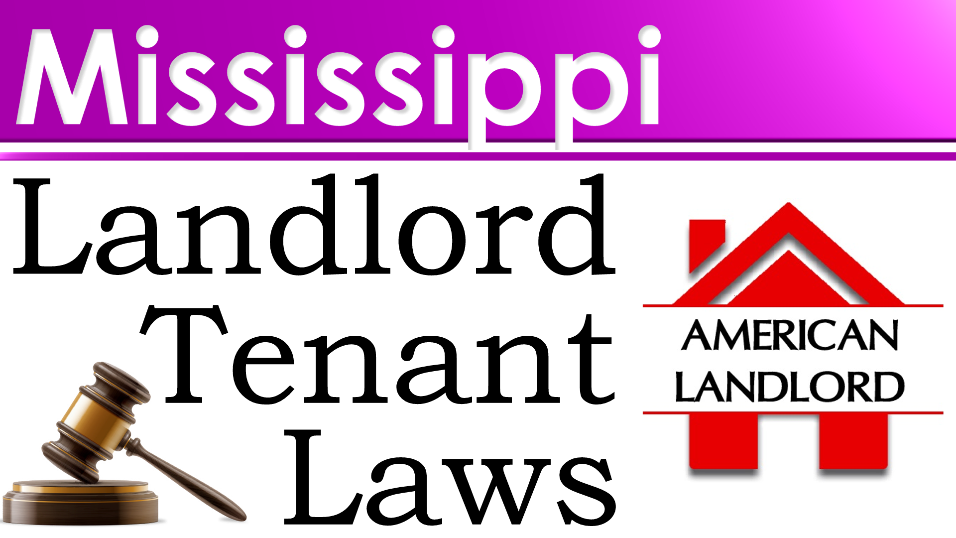 Mississippi landlord tenant law