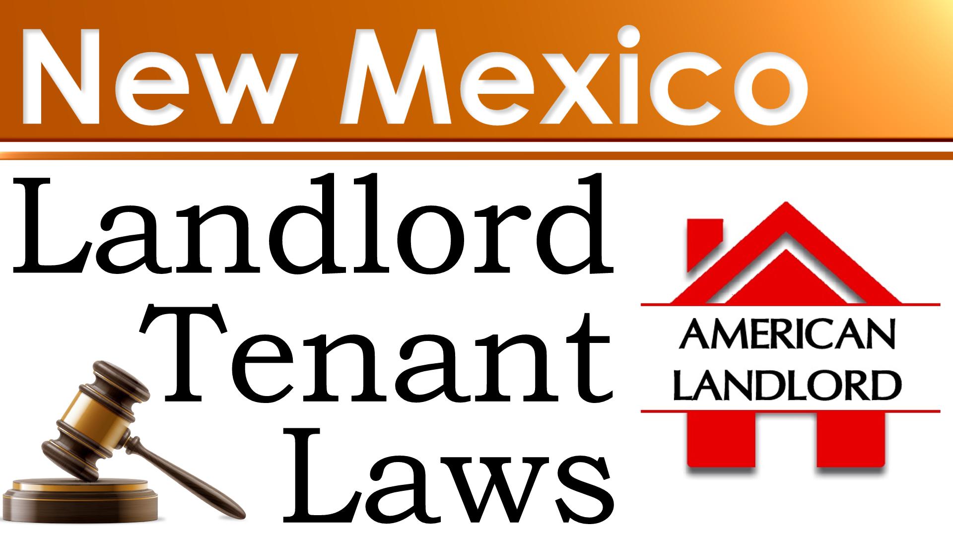New Mexico landlord tenant law