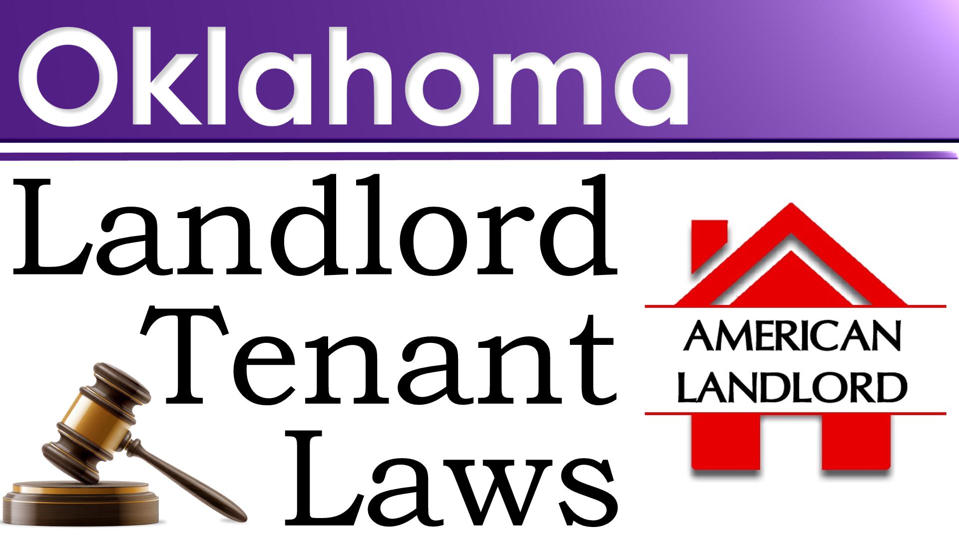 Oklahoma landlord tenant law