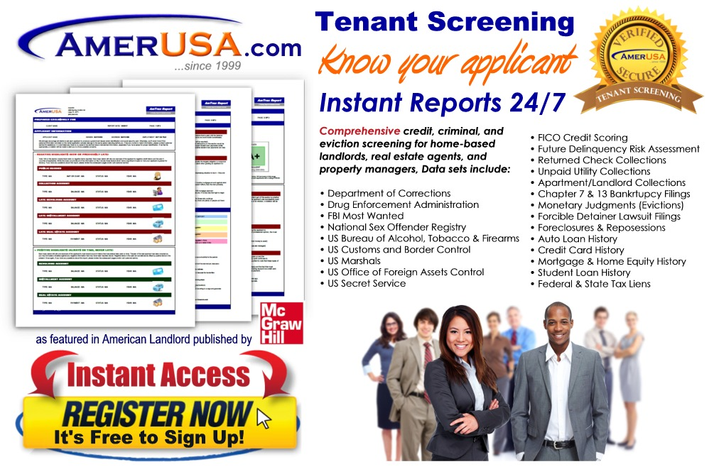 Tenant Screening Services