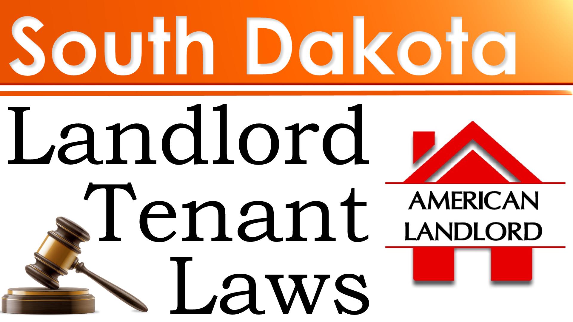 South Dakota landlord tenant law