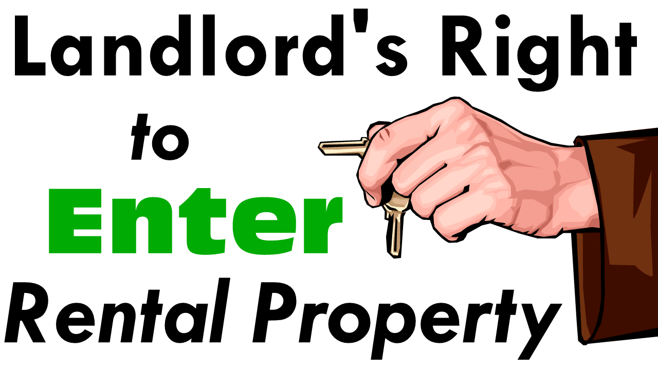 Landlord Right to Enter